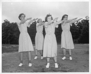 exercise in the 1950s