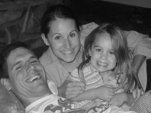 daddy and his girls