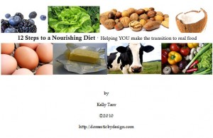 12 Steps to a Nourishing Diet ebook